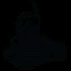 Наклейка «Дайвер v8»