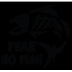 Наклейка «Fear No Fish»
