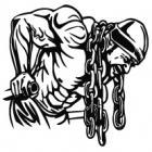 Наклейка «Бодибилдер»