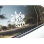 Наклейка «GYM v2»