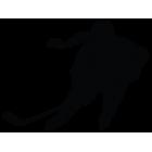 Наклейка «Хокеїстка»