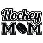 Наклейка «Hockey Mom»