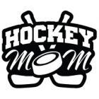 Наклейка «Hockey Mom v8»