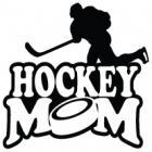 Наклейка «Hockey Mom v9»