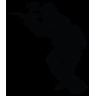 Наклейка «Пейнтбол»