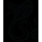 Наклейка «Змея Кобра v3»