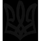 Наклейка «Тризуб v5»