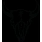 Наклейка «Череп буйвола»